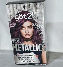Schwarzkopf got2b M69 Amethyst Chrome Metallics Permanent Hair Color
