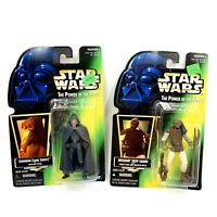 Lot of 2 Kenner Star Wars Power Of The Force Action Figures Garindan and Weequay