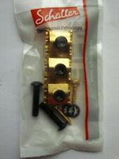 Schaller Klemmsattel R2 für FR-Tremolo Gold
