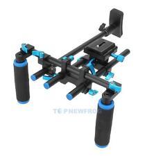 F14123 Commlite Video Stabilizer Shoulder Mount Rig for DSLR Camera Camcorder