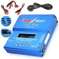 LCD Digital Battery Balance Charger iMAX B6 AC for Lipo NiMH Polymer RC UK Plug