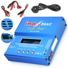 IMAX B6 AC Lipo NiMH Polymer RC LCD Digital Battery Balance Charger UK/EU Plug