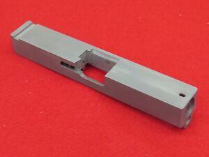 Stainless Steel Blank Slide For Glock 23 .40 Cal Square Edges