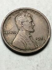 1921 P LINCOLN WHEAT CENT -  Low Shipping Lot F21 Nice Coin