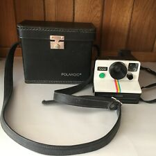 Vintage Polaroid 1000 Instant Camera Red Button Icon with Case