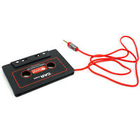 AUX 3.5mm Jack Car Audio Cassette Tape Stereo Adapter For MP3 Player iPod Phone