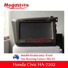 8 inch Honda Civic RHD 2012-2015 Car DVD GPS Player Stereo Head Unit