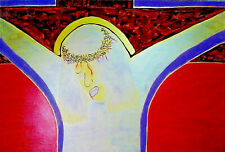 PAINTING, 'ONE...FOR ALL',ACRYLIC,18K GOLD,CONTEMPO,EXPRESSION,CANVAS.FREE SHIP!