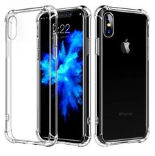 iPhone X Clear Rubber Silicone Protective Thin Case