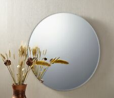 Cooper & Co. Issy Urban Round Frameless Wall Mirror 70 cm Large Bathroom Makeup