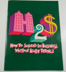 c.1995 How to Succeed in Business Without Really Trying Souvenir Brochure