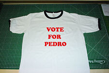 Vote For Pedro. Fruit of the Loom T Shirt - Napoleon Dynamite, Size extra Large