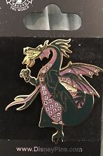 Disney Sleeping Beauty Maleficent Jeweled Dragon pin