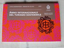 ###  2 Euro Gedenkmünze, Nachhaltiger Tourismus aus San Marino Ausg. 2017 ###