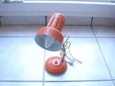 lampe de bureau année 70 orange vintage