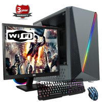 Ryzen Quad Core 2200G VEGA 8, 480gb SSD  Bundle Gaming  PC CIT Computer up536