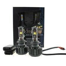 V16 Turbo 60W & 7200LM/Set Auto LED Headlight Kit , Size H7, Color White 6000K