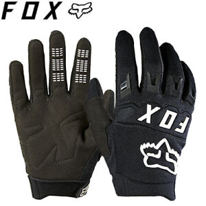 Fox Youth Dirtpaw Gloves - Black White - Kids Sizes