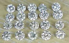 0.18cts 20pc Natural Loose Brilliant Cut Diamond I-J Color SI-I Clarity Nontreat