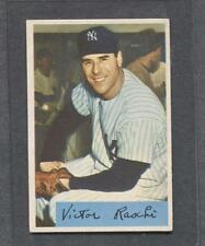 1954 Bowman #33 Vic Raschi (Yankees) (Traded)  Ex-Mt  (Flat Rate Ship)