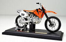 KTM 520 SX scala 1:18 arancione Modello Motocicletta von Maisto