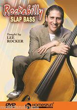 Learn To Play Rockabilly Slap Bass Lesson Rocker DVD Upright Double Pulls TUTOR