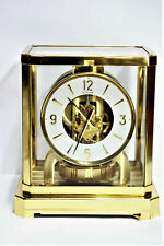 GORGEOUS LECOULTRE' ATMOS ANNIVERSARY CARRIAGE CLOCK MODEL 528 SWISS MOVEMENT BE