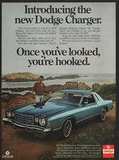 1976 TOM SELLECK - MAGNUM PI - BLUE BLOODS -DODGE CHARGER DAYTONA Car VINTAGE AD