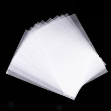 10 Pcs Transluscent Heat Shrink Paper Film Sheet DIY Hanging Craft Making Decor