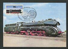 BERLIN MK 1985 491 EISENBAHN TRAIN RAILWAY MAXIMUMKARTE MAXIMUM CARD MC CM d2091