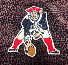 """New England Patriots Old Big Quality Embroidered Patch (10""""x10.5"""")"""