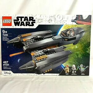 LEGO Star Wars General Grievous's Starfighter 75286 New Sealed 487 Pcs
