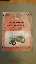Allis Chalmers 190 tractor Operator's Manual