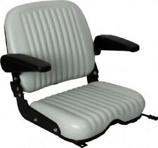 UNIVERSAL HEAVY DUTY SEAT W/ ARM RESTS FOR FORKLIFTS,TELEHANDLERS,TRACTORS, #KW