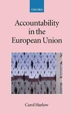 Accountability in the European Union (Collected Courses of the Academy-ExLibrary