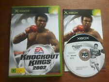 KNOCKOUT KINGS 2002 XBOX - COMPLETO - VERS PAL  - BUONO STATO