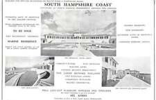 1937 Potential For Hotel South Hampshire Coast Opposite Needles 6 Acres For Sale