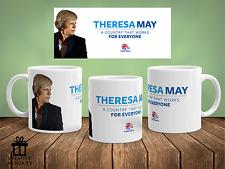 Conservative Party Mug - General Election - Theresa May - Tory mug
