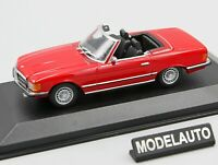 Minichamps 1:43 MERCEDES  350 SL  1974  RED  -  MAXICHAMPS