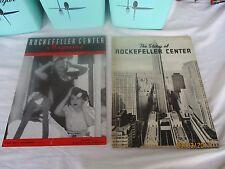 Rockefeller Center Magazine August 1939 & The Story of Rockefeller Center