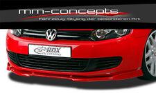 VW Golf VI 6 Spoilerlippe Frontspoiler Lippe Front ansatz Frontansatz