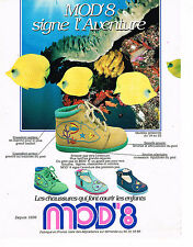 PUBLICITE ADVERTISING 0314   1998   MOD'8  chaussures enfants