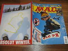 MAD 005 -- Neues vom maskierten Mountie / Sergio geht Snowboarden /Skion & Skion