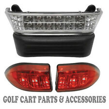 Club Car Precedent Golf Cart LED Headlight & Tail Light Kit (Elec. 2004- 08.5)