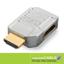HICON adaptador HDMI macho hembra <->HDMI 90 º horizontal. ELODIE MF90H</->