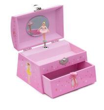 Girls Pink Ballet Dance Music Large Jewellery Box Chest By Katz Dancewear JB25