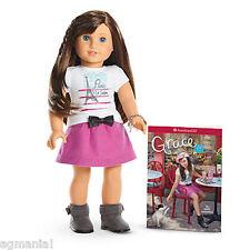 "American Girl GRACE THOMAS 18"" Doll 2015 BOOK & BRACELET NEW FAST GLOBAL SHIP!"
