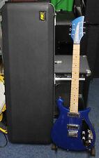 Rickenbacker 650C colorado, azul oscuro con estuche rígido original, junio de 2003