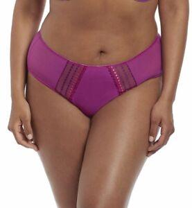 Elomi 8905 Matilda Brief Panty Magenta Size 4XL new no tags