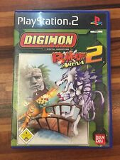 *** Digimon Rumble Arena 2 *** PLAYSTATION 2 ps2 PS 2 *** con istruzioni *** OVP